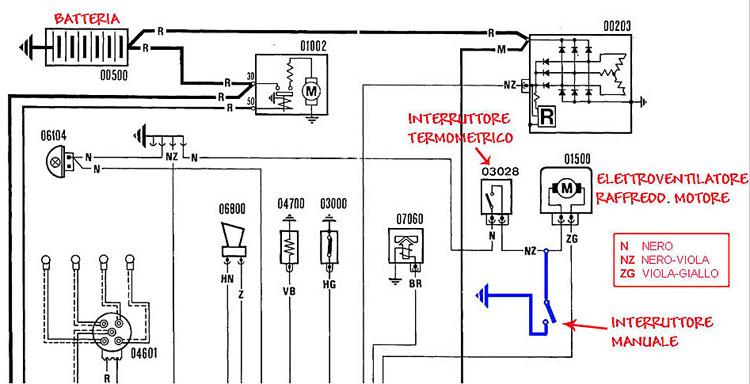 Schema Elettrico Wiring Diagram : Fiat panda wiring diagrams diagram